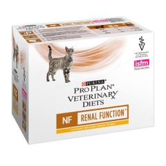 Purina Veterinary Diets Chat NF Poulet 85 gr x 10 (Sachets)