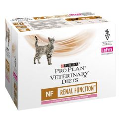Purina Veterinary Diets Chat NF Renal Saumon 85 gr x 10 (Sachets)