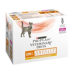 Purina Veterinary Chat OM Obesity 85 gr x 10 (Sachets)