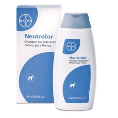 Shampooing Neutrolor pour chiens Bayer Sano & Bello (250 ml)