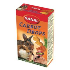 Sanal Snacks Rongeurs Drops Carrotte(ud)