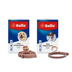 Collier antiparasitaire Bolfo pour chiens