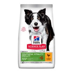 Hill's Science Plan Canine Senior Vitality Medium Poulet