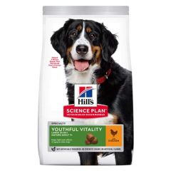 Hill's Science Plan Canine Mature Adult 5+ Senior Vitality Large Breed Poulet