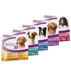 Vectra 3D Antiparasitaire chien (3 pipettes)