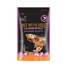 Snack perro Pet Munchies Salmon Fillets (90 gr)
